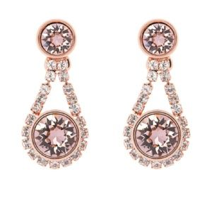 Ted Baker Stormm Crystal Chain Drop Earrings